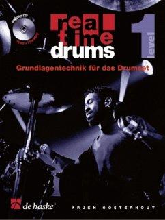 Real Time Drums, m. Audio-CD - Oosterhout, Arjen