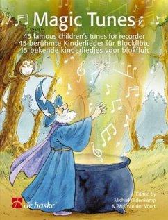 Magic Tunes, für Blockflöte, m. Audio-CD