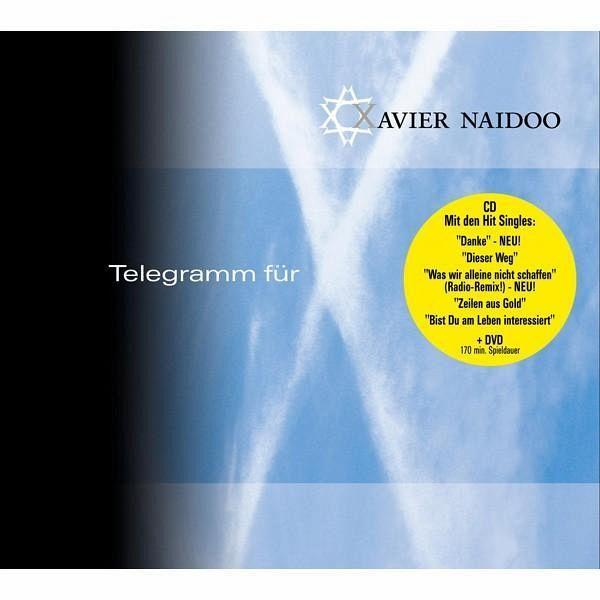 Telegramm F 252 R X Von Xavier Naidoo Auf Cd Dvd Portofrei