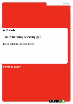 The remaining security gap