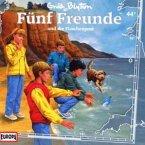 Fünf Freunde und die Flaschenpost / Fünf Freunde Bd.44 (1 Audio-CD)