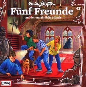 Fünf Freunde und der unheimliche Mönch / Fünf Freunde Bd.43 (1 Audio-CD) - Fünf Freunde