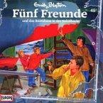 Fünf Freunde und das Bootshaus in der Nebelbucht / Fünf Freunde Bd.45 (1 Audio-CD)