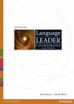 Coursebook, w. CD-ROM / Language Leader, Elementary