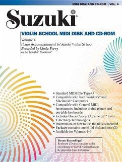 Suzuki Violin School, Vol 4: General MIDI Disk ...