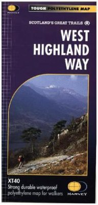 West Highland Way, Map - Harvey Map Services Ltd.