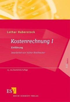 Kostenrechnung 1 - Haberstock, Lothar