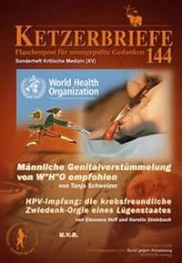 Kritische Medizin XV. Ketzerbriefe Sonderband 144