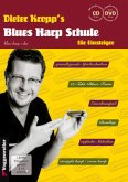 Dieter Kropp's Blues Harp Schule, m. Audio-CD u. DVD