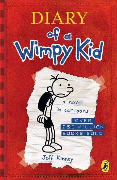 Diary of a Wimpy Kid\Gregs Tagebuch - Von Idioten umzingelt!, englische Ausgabe Bd.1 - Kinney, Jeff