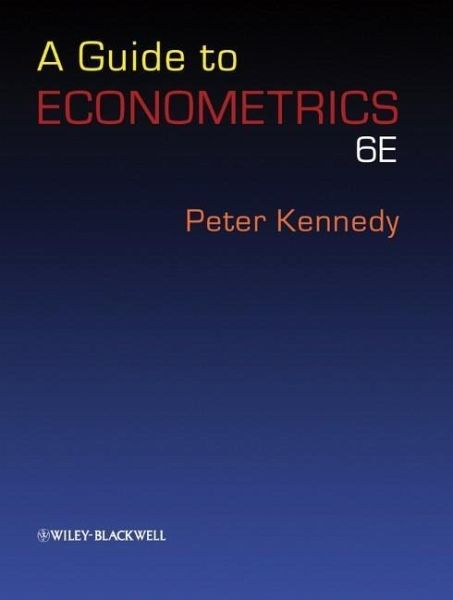 peter kennedy a guide to econometrics 6th edition pdf