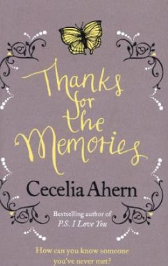 Thanks for the Memories - Ahern, Cecelia