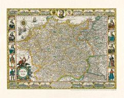 Deutschland - Germania, 1607, Planokarte