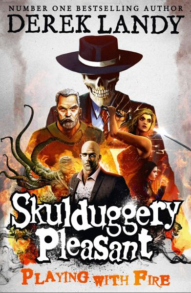 Skulduggery Pleasant 02. Playing with Fire - Landy, Derek