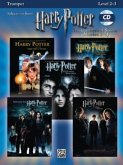 Harry Potter Movies 1-5, w. Audio-CD, for Trumpet