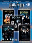 Harry Potter Movies 1-5, W. Audio-CD, for Violin and Piano Accompaniment
