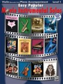 Easy Popular Movie Instrumental Solos, w. Audio-CD, for Violinand Piano Accompaniment