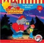 Benjamin Blümchen findet einen Schatz / Benjamin Blümchen Bd.59 (1 Audio-CD)
