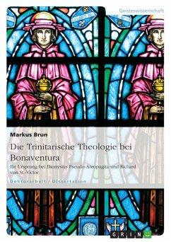 Die Trinitarische Theologie bei Bonaventura