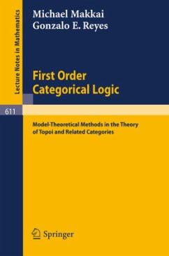 First Order Categorical Logic - Makkai, M.; Reyes, G. E.