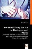 Die Entwicklung der FDP in Thüringen nach 1989/90
