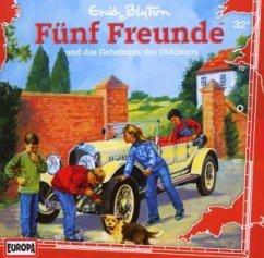 Fünf Freunde und das Geheimnis des Oldtimers / Fünf Freunde Bd.32 (1 Audio-CD) - Fünf Freunde