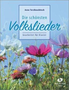 Die schönsten Volkslieder, für Klavier - Terzibaschitsch, Anne