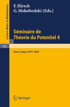 Séminaire de Théorie du Potentiel Paris, 1977-1978, No. 4