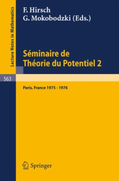 Séminaire de Théorie du Potentiel, Paris, 1975-1976, No. 2