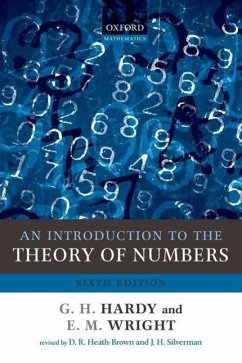 An Introduction to the Theory of Numbers - Hardy, G. H. (Formerly of the University of Cambridge); Wright, E. M. (Formerly of the University of Aberdeen)
