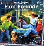 Fünf Freunde jagen die Entführer / Fünf Freunde Bd.13 (1 Audio-CD)