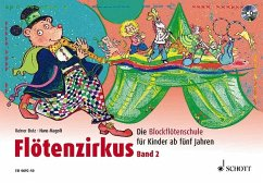 Flötenzirkus, m. Audio-CD