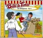 Die Wildpferde Teil 1 / Bibi & Tina Bd.13 (1 Audio-CD)