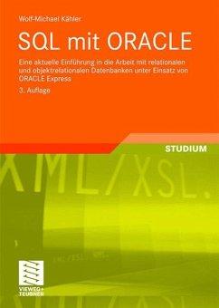 SQL mit ORACLE - Kähler, Wolf-Michael