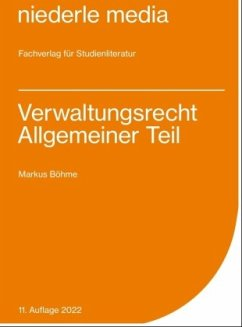 Verwaltungsrecht AT. Karteikarten - Böhme, Markus