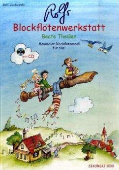 Rolfs Blockflötenwerkstatt, m. Audio-CD