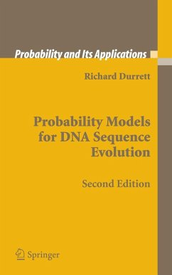 Probability Models for DNA Sequence Evolution - Durrett, Rick