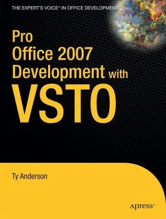 Pro Office 2007 Development with VSTO - Anderson, Ty