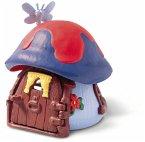 Schleich 49013 - Die Schlümpfe, Kleines Schlumpfhaus, blau