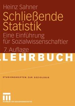 Schließende Statistik - Sahner, Heinz