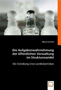 Die Aufgabenwahrnehmung der öffentlichen Verwaltung im Strukturwandel - Grindel, Marcel