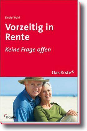 Vorzeitig in Rente - Pohl, Detlef