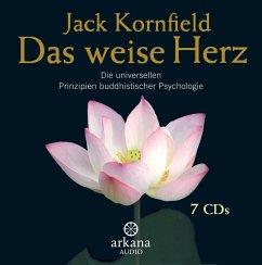 Das weise Herz, 7 Audio-CDs - Kornfield, Jack