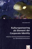 Kultursponsoring als Element der Corporate Identity