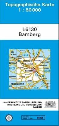 Karte Bamberg Landkarte.Topographische Karte Bayern Bamberg