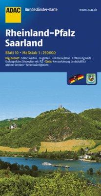 ADAC Karte Rheinland-Pfalz, Saarland