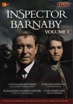 Inspector Barnaby, Vol. 01 (4 DVDs) - Inspector Barnaby