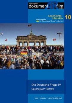 Die Deutsche Frage IV - Epochenjahr 1989/90, 1 DVD