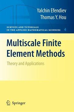 Multiscale Finite Element Methods - Efendiev, Yalchin;Hou, Thomas Y.