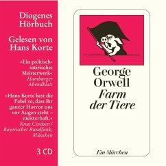 Farm der Tiere, 3 Audio-CDs - Orwell, George